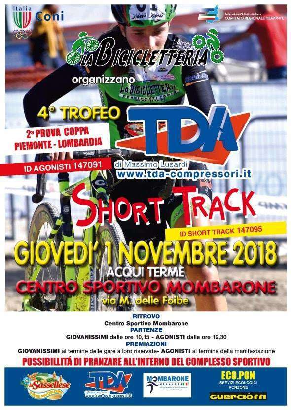 Acqui Terme seconda prova Coppa Piemonte Ciclocross