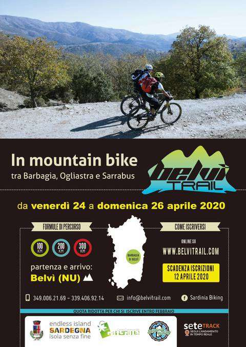 Belvi Trail in mountain bike