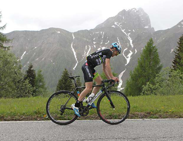 Enrico Zen alla Marcialonga Cycling Craft (foto newspower)