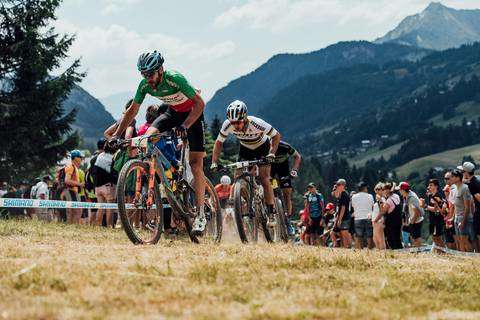 Gerhard Kerschbaumer secondo a Les Gets (foto red bull)