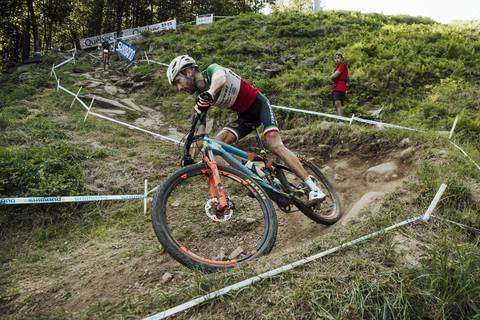 Gerhard Kerschbaumer secondo in Coppa del Mondo a Mont Sainte Anne Canada (foto red bul comunication)