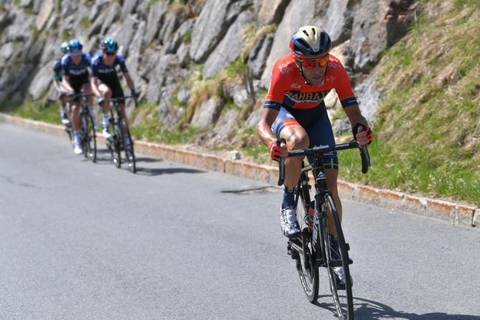 Nibali all'attacco al Tur of the Alps (foto cyclingnews)