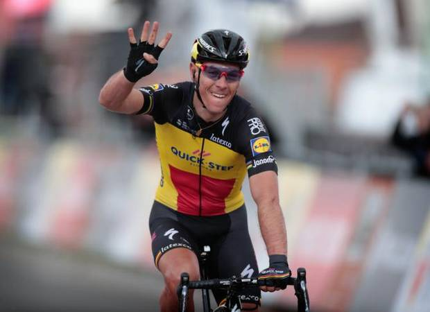 Philippe Gilbert vince l'Amstel Gold Race (foto bettini cyclingnews)