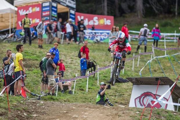 Qualifiche Downhill in Val di Sole (foto Mondini)