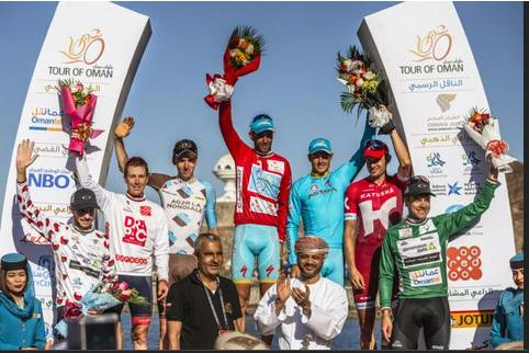Vincenzo Nibali vince il Tour of Oman (foto cyclingnews)