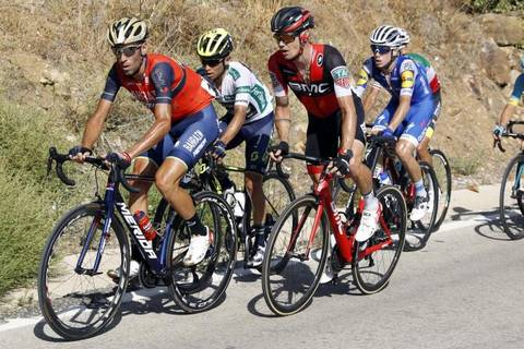 Vincenzo Nibali secondo in classifica generale (foto bettini cyclingnews)