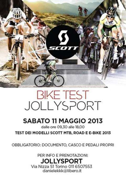 Volantino Bike Test Scott Jplly Sport