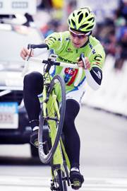 Peter Sagan all'arrivo (foto Bettini)